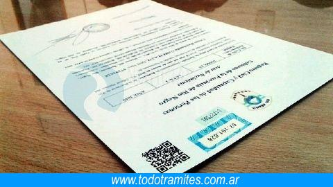 Certificado de nacido vivo