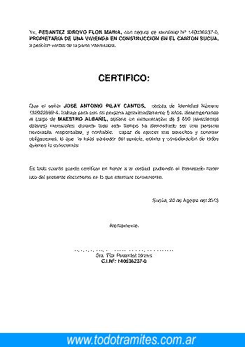 Qué Es El Certificado De Art 80 LCT