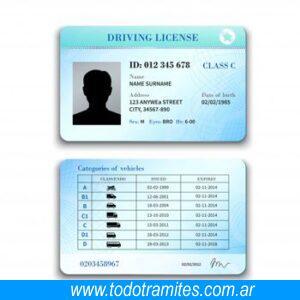 Conclusion Registro de conducir