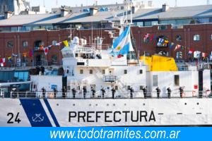 Historia de la Prefectura Naval Argentina. 1