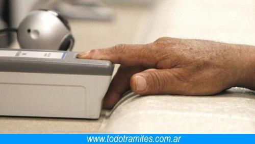 Qué es el Sistema Biometrico MI HUELLA