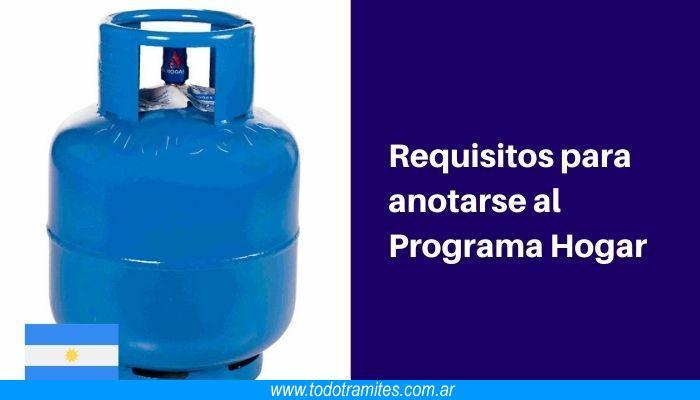 Cómo inscribirse en Programa HOGAR (Gas Social)