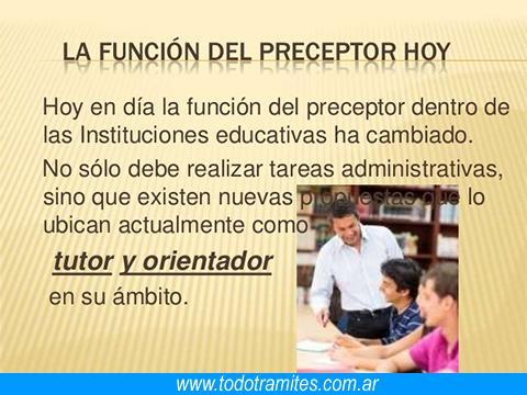 Requisitos para ser preceptor 8 Tramites Y Requisitos Para Ser Preceptor En Argentina