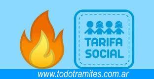 Tarifa social gas