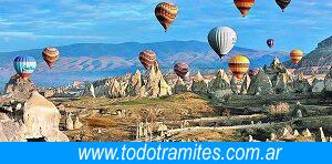 Turismo en Turquía aguas paseo en globo
