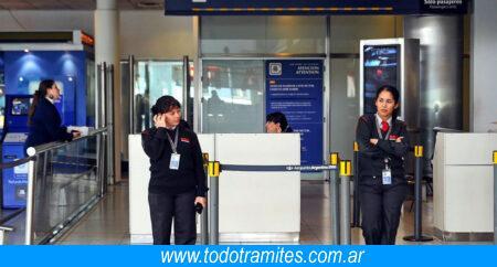 control migratorio argentina
