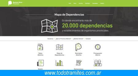 gobierno de la provincia de Buenos Aires portal