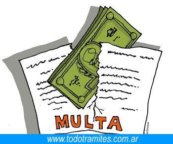 Multa Certificado De Art 80 LCT