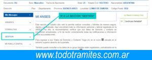 opcion gestion certificado de vivienda familiar