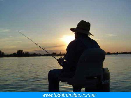 pasos a seguir licencia de pesca