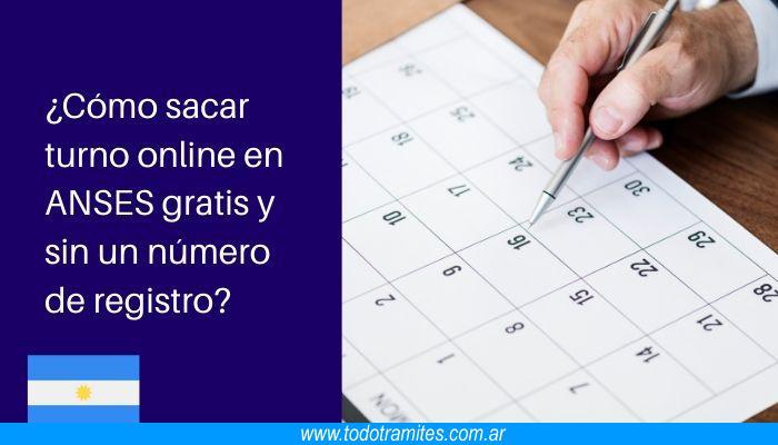 Cómo sacar turno online en ANSES gratis y sin un número de registro