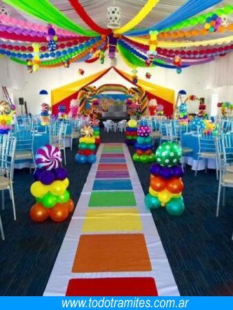 salon de fiesta infantil
