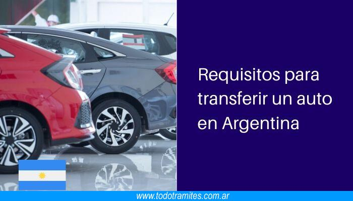 Requisitos para transferir un auto en Argentina: cómo hacer una transferencia automotor paso a paso
