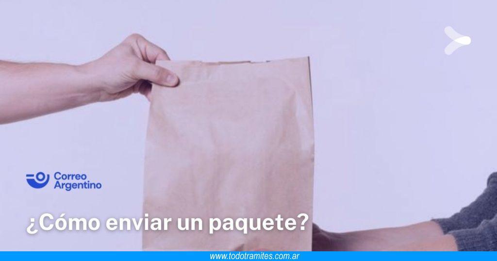 Cómo enviar un paquete por Correo Argentino