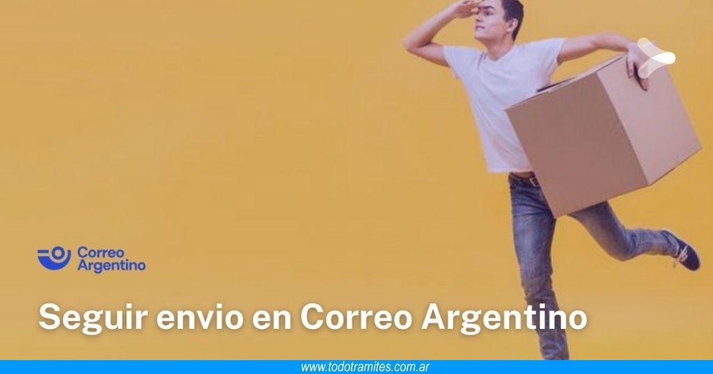 Cómo seguir un envío por Correo Argentino