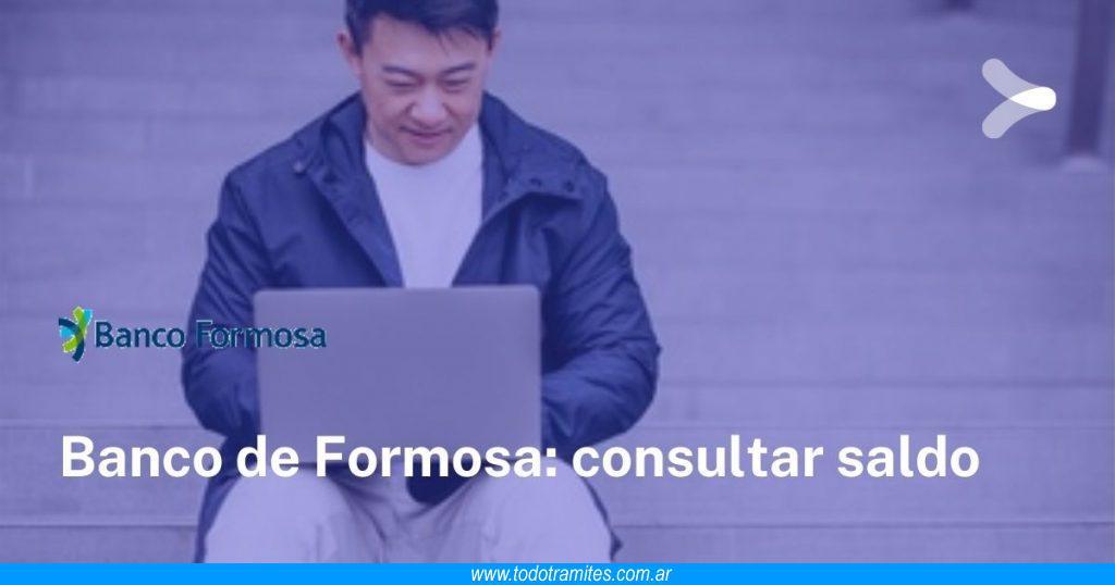 Consultar saldo Banco de Formosa