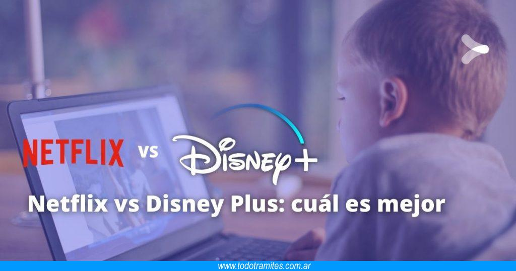 Netflix vs Disney Plus -  cuál es mejor