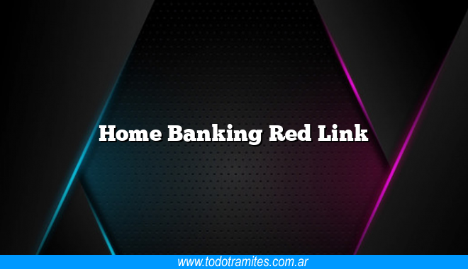 Home Banking Red Link