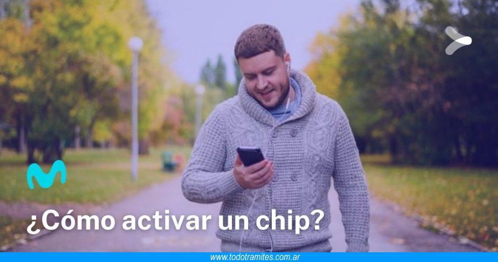 Cómo activar un chip Movistar en Argentina