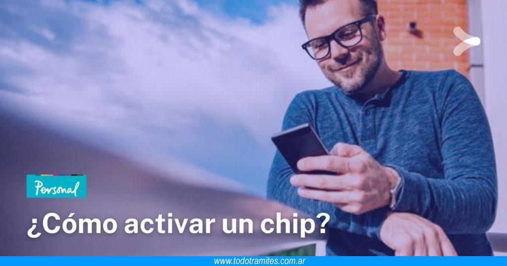 Cómo activar un chip Personal en Argentina