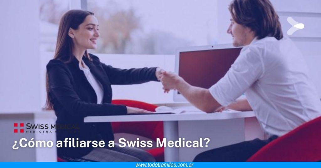 Cómo afiliarse a Swiss Medical