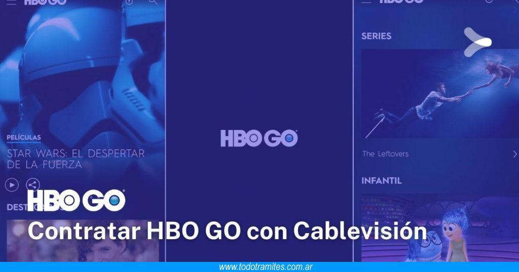 Cómo contratar HBO GO si tengo Cablevisión