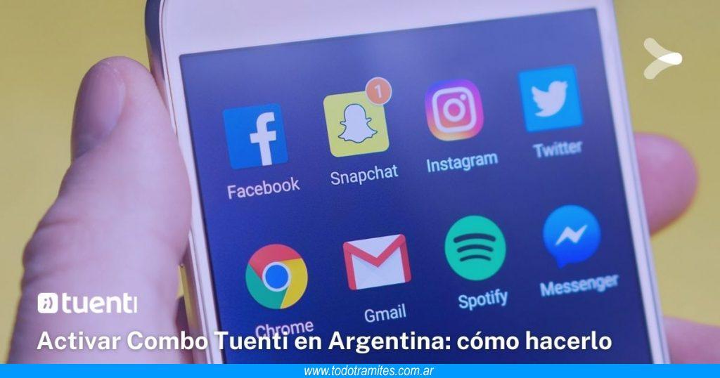 Activar Combo Tuenti en Argentina -  cómo hacerlo y empezar a disfrutarlo