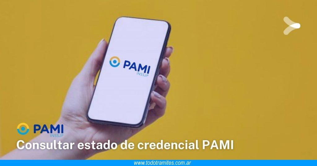 Cómo consultar el estado de mi credencial PAMI