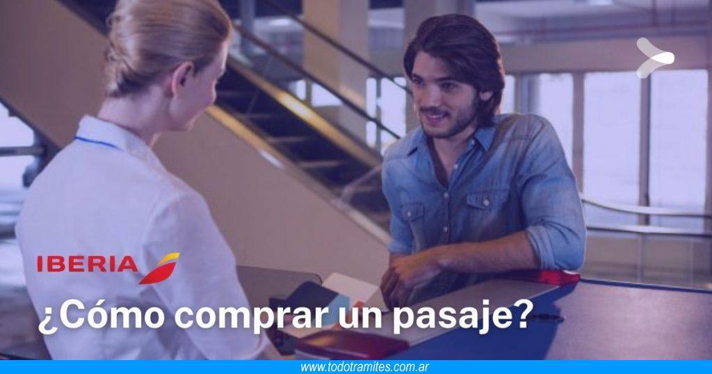 Cómo comprar pasajes de avión en Iberia Argentina