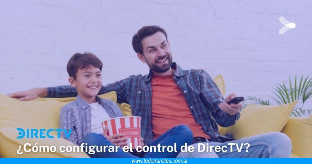 Cómo configurar el control de DirecTV