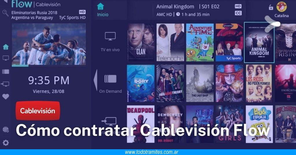 Qué es y cómo contratar Cablevisión Flow