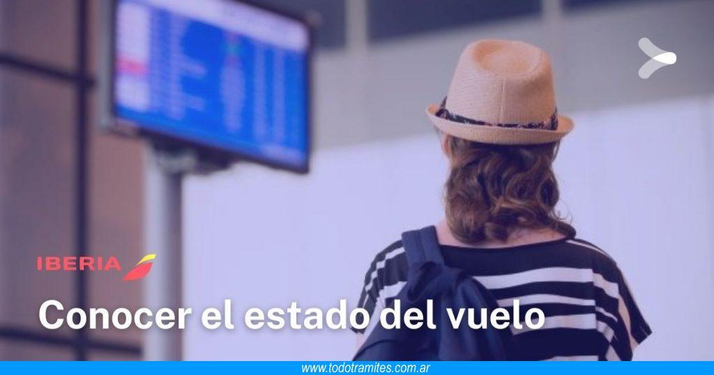 Cómo ver el estado de mi vuelo en Iberia