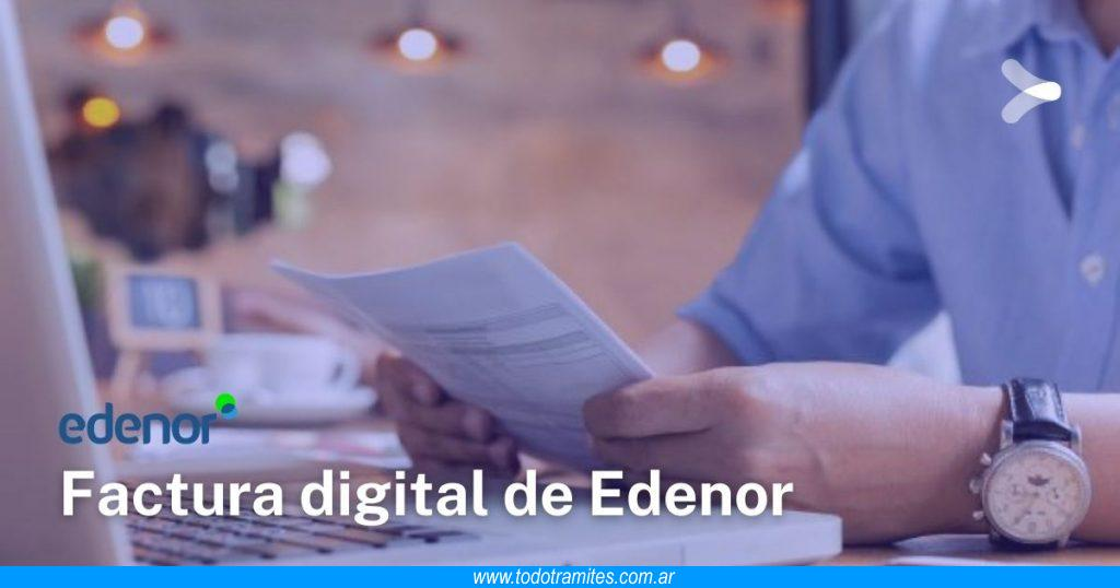 Cómo ver, descargar y pagar factura digital de Edenor
