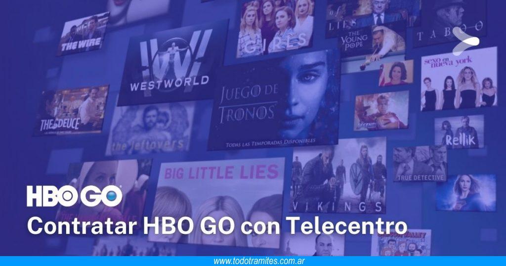 Cómo contratar HBO GO si tengo Telecentro