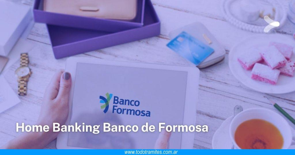 Cómo hacer Home Banking en Banco de Formosa