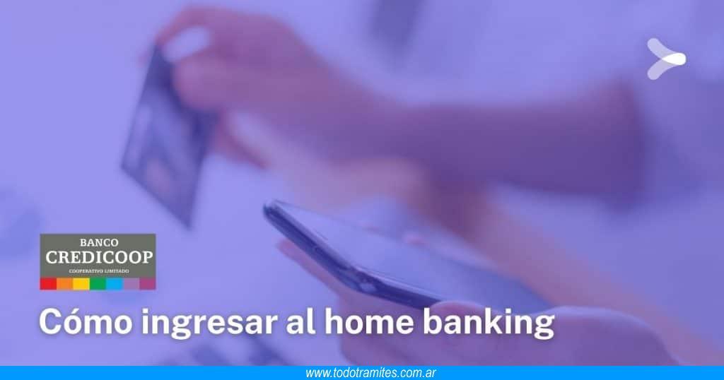 Cómo hacer home banking en Credicoop