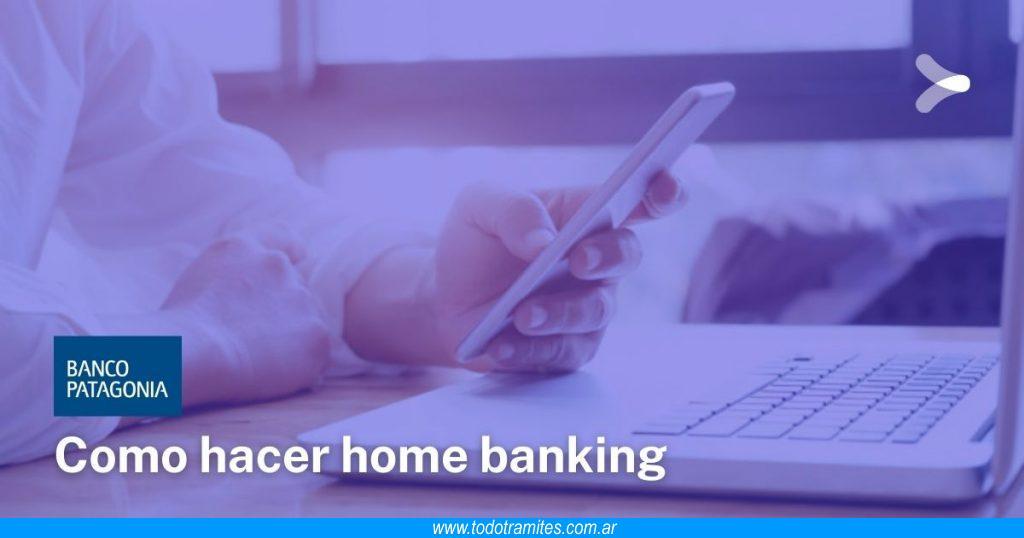 Cómo hacer home banking en Banco Patagonia