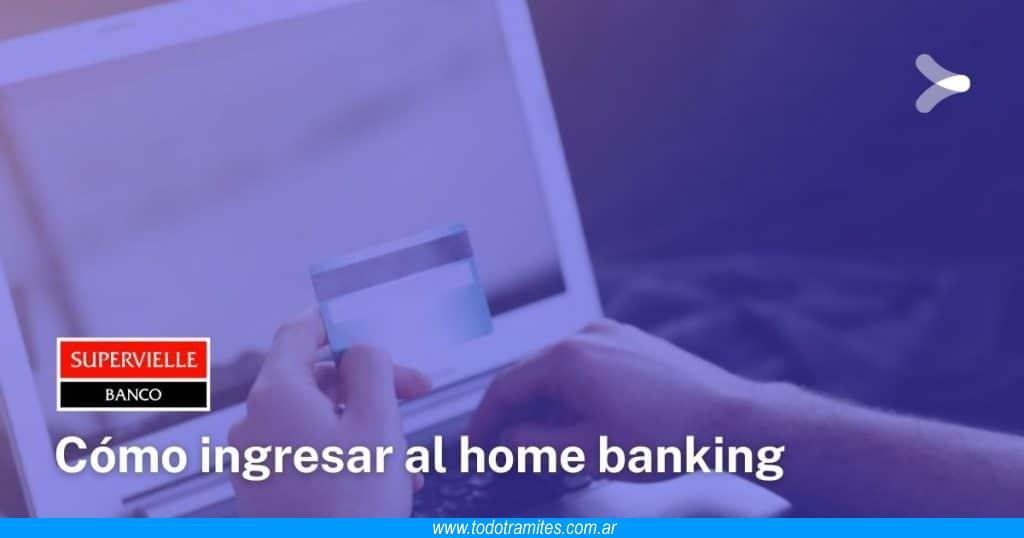 Cómo hacer home banking en Supervielle