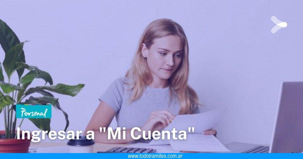 Cómo ingresar a mi cuenta Personal por Internet en Argentina