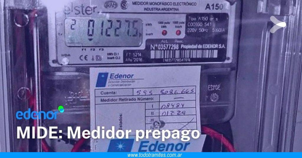 Qué es y cómo funciona el medidor prepago de Edenor