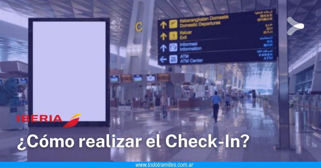 Cómo hacer el Check In en Iberia