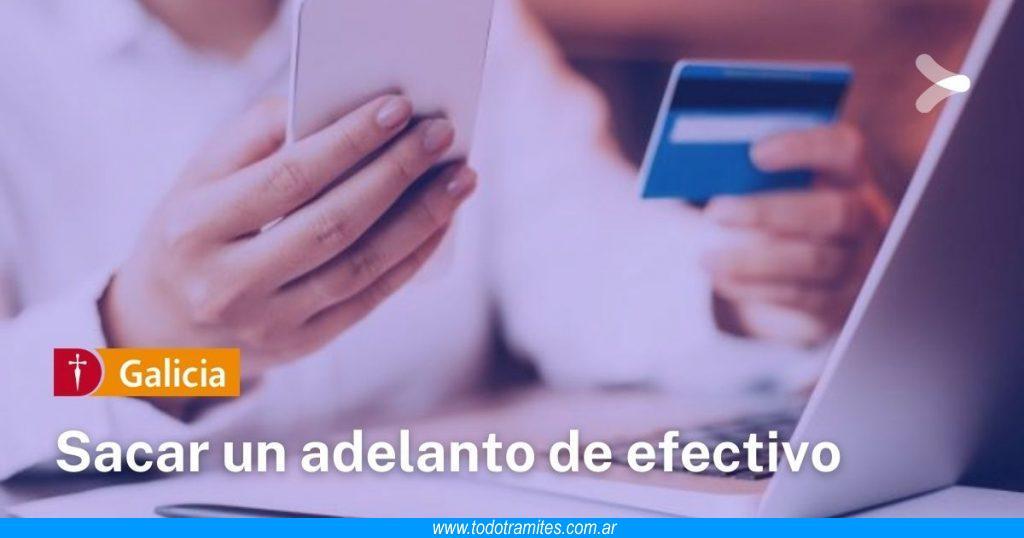 Cómo sacar un adelanto de efectivo con mi tarjeta de crédito de Banco Galicia