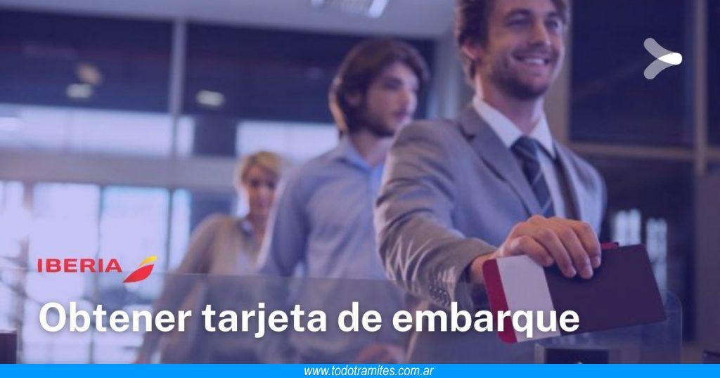 Cómo obtener e imprimir la tarjeta de embarque de Iberia