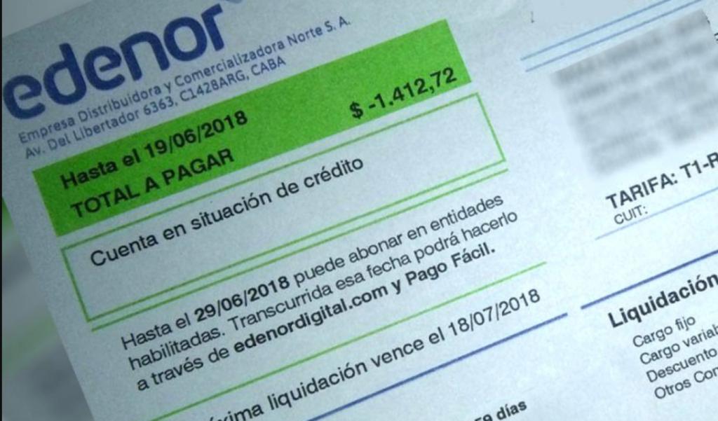 imprimir factura edenor