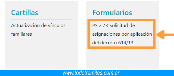 Paso 4 descargar Formulario 2.73